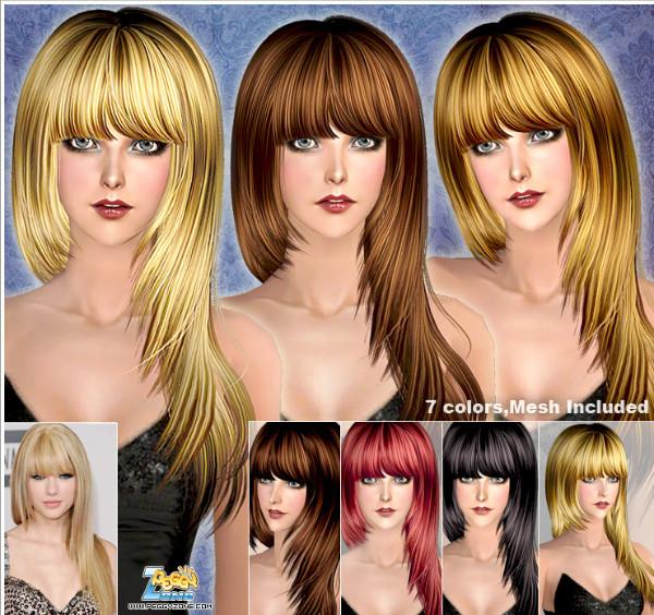 S2 Female Hair #008147