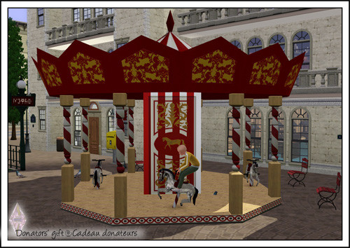 ATS Carousel Horse&Roof (request)