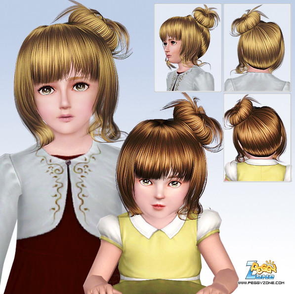 Toddler/Child hair mesh #000802