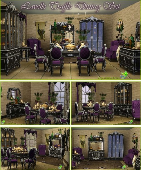 Lavelle Truffle dining set (updated)