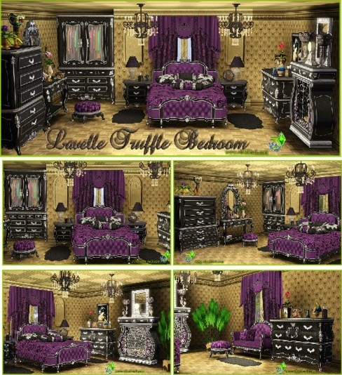 Lavelle Truffle bedroom set (updated)