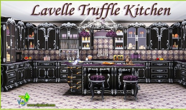 Lavelle Truffle Kitchen Set (request) (updated)