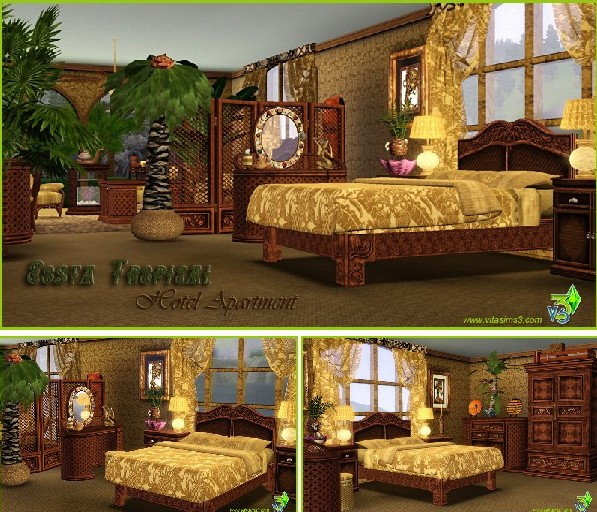 Costa Tropical Hotel Apartment Set (updated)