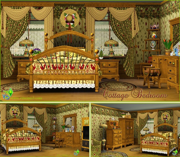 VitaSims COTTAGE BEDROOM (request) (updated)