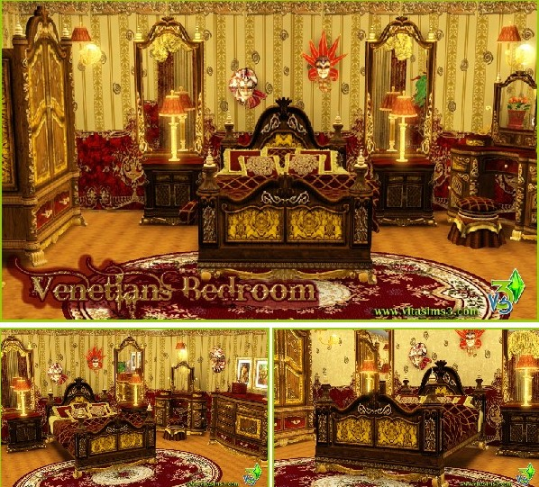 Venetians Bedroom (updated)
