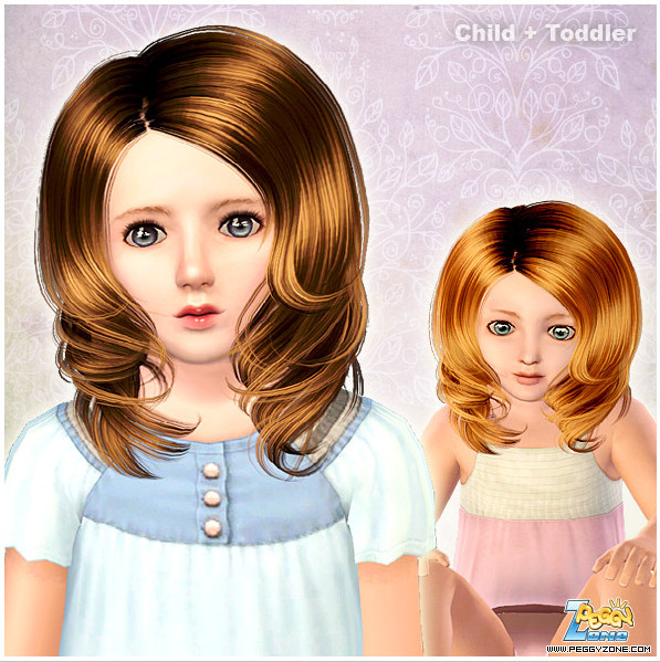 Toddler/Child hair mesh #000819