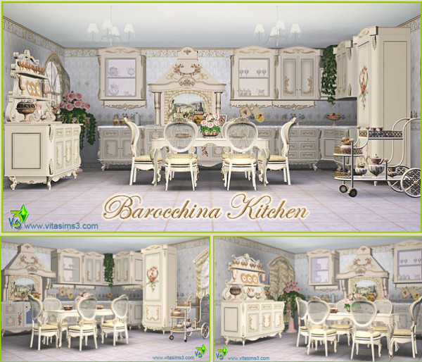 BAROCCHINA KITCHEN SET (request)