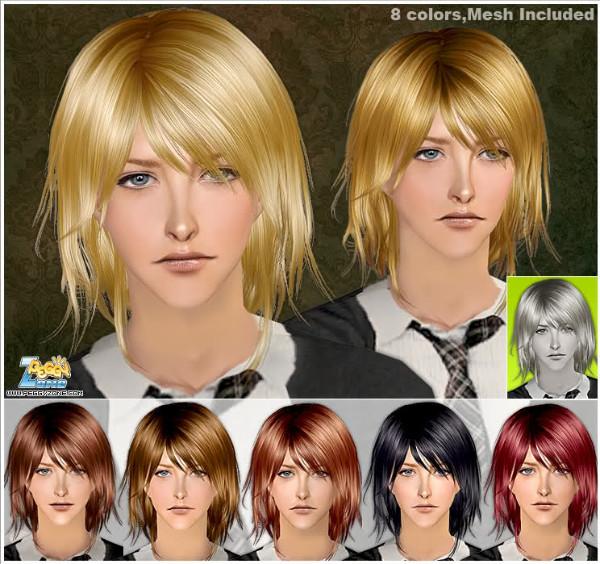 Male hair mesh #008151