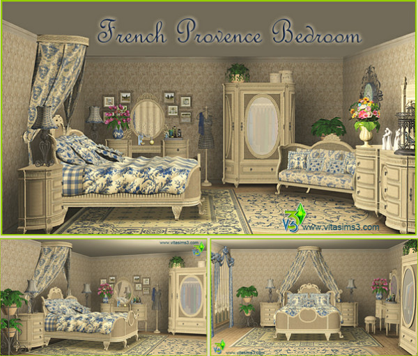 FRENCH PROVENCE BEDROOM SET (request)