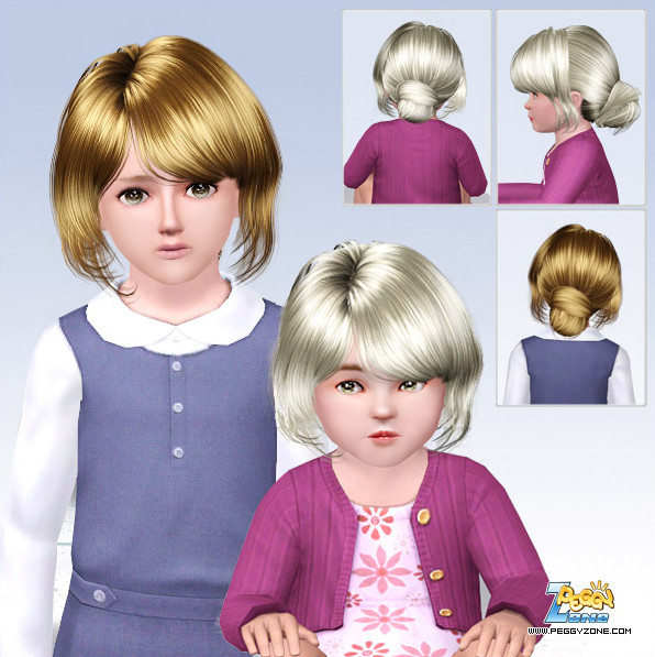 Toddler/Child hair mesh #000811