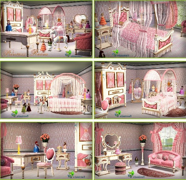 VitaSims Princess Bedroom (updated)