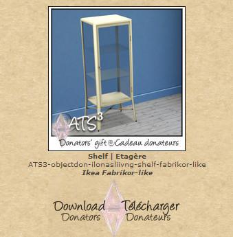 ATS Shelf Ikea Fabrikor-like