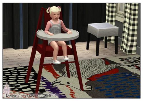 ATS Baby High Chair Ikea Blames-like