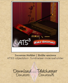 ATS Incense Holder (request)