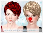 Jennisims: Downloads sims 3: Newsea heartquake Hair retext