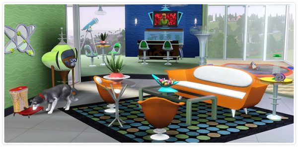 Atomic Age Living and Dining (untouched-request)
