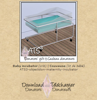 ATS Baby incubator (crib)