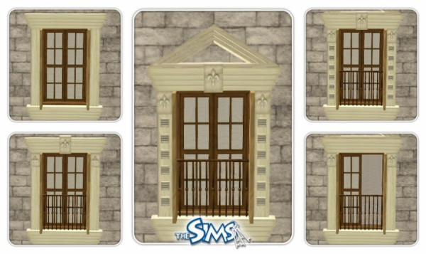 French Windows Set