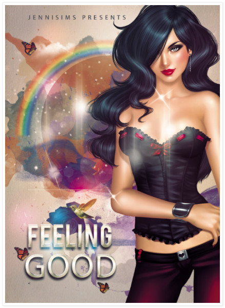 CONTEST TS2 & TS3: Feeling Good JenniSims