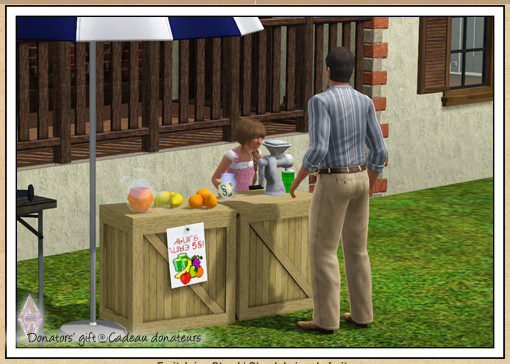 ATS Fruit Juice Stand