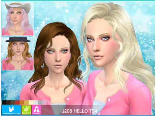 Newsea J208 HELLO TS4