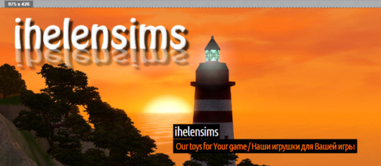 New Affiliate IhelenSims